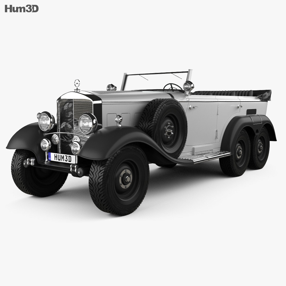 Mercedes-Benz G4 Offroader 1939 3d model