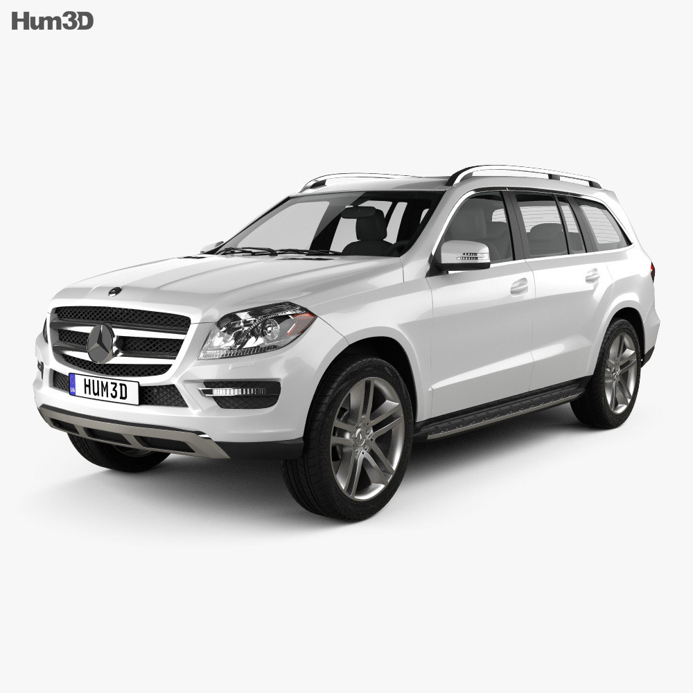 Mercedes-Benz GL-Class X166 2013 3D Model