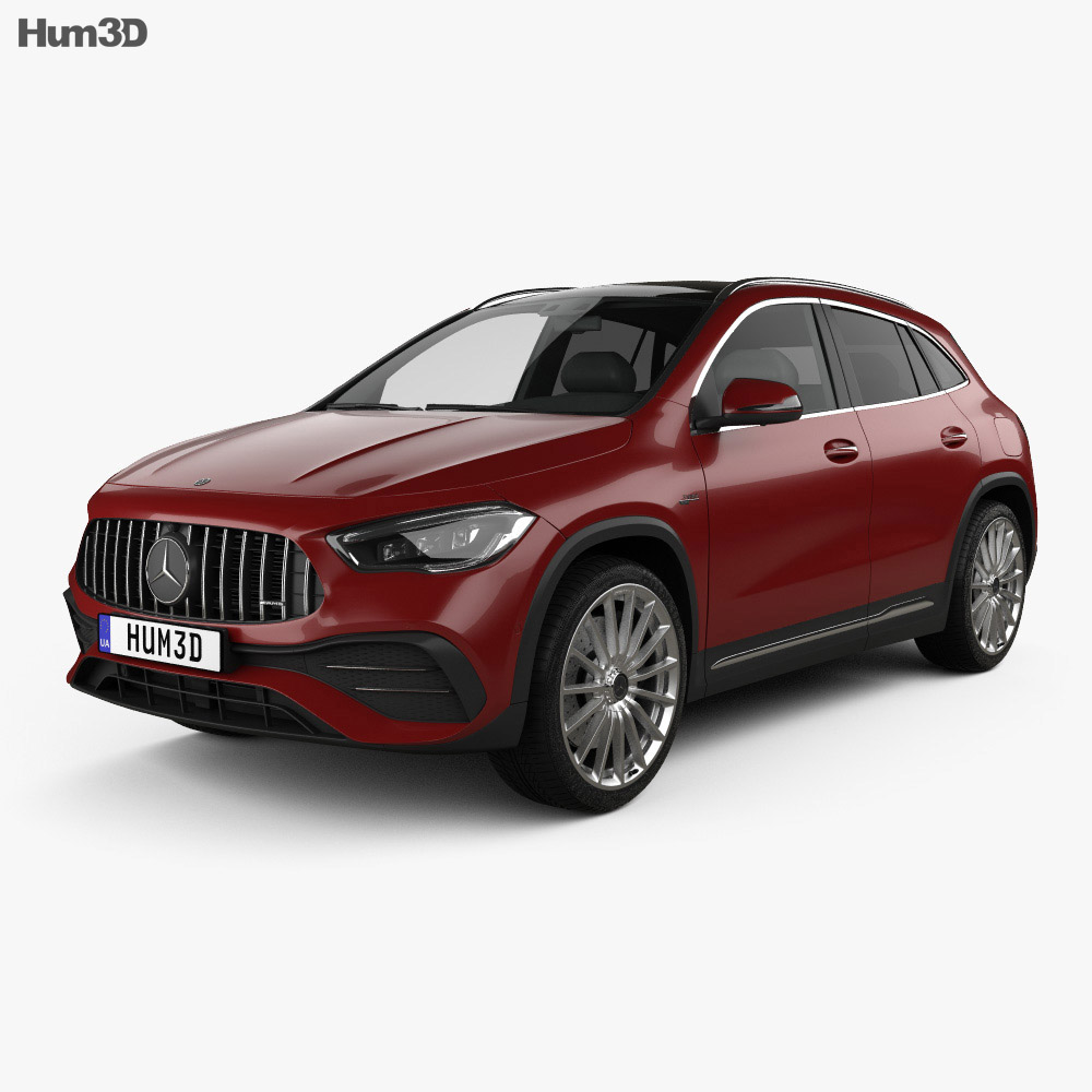 Mercedes-Benz GLA-class AMG 2020 3d model