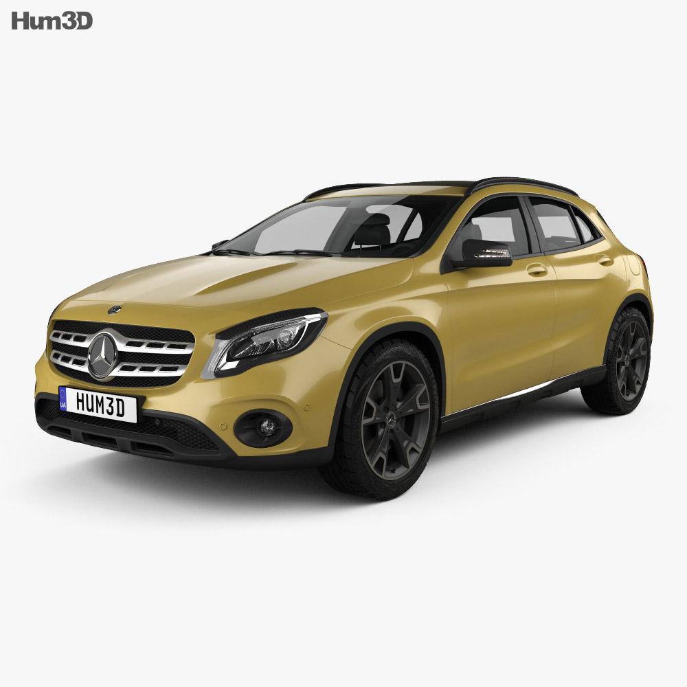 Mercedes benz gla lass x156 2017 3d model hum3d for Mercedes benz s models