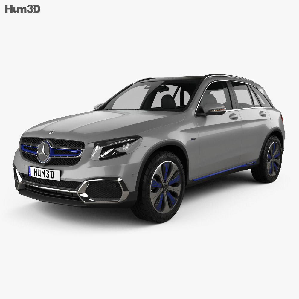 Mercedes-Benz GLC-class F-Cell 2019 3d model