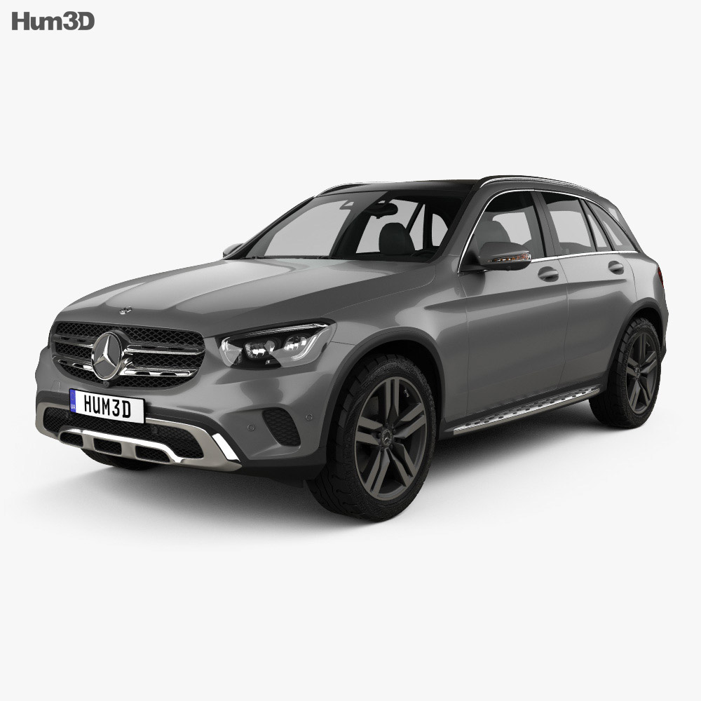 Mercedes-Benz GLC-class 2019 3d model