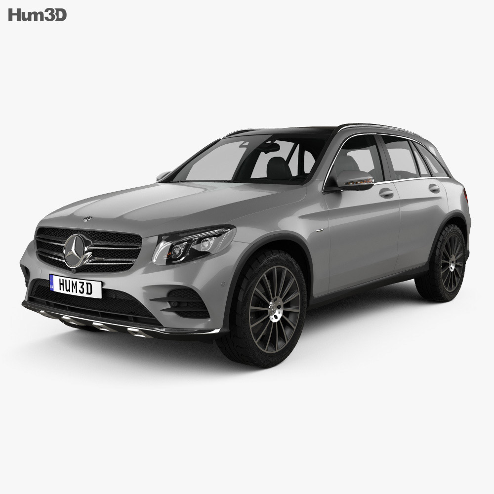 mercedes benz glc class x205 amg line 2015 3d model humster3d. Black Bedroom Furniture Sets. Home Design Ideas