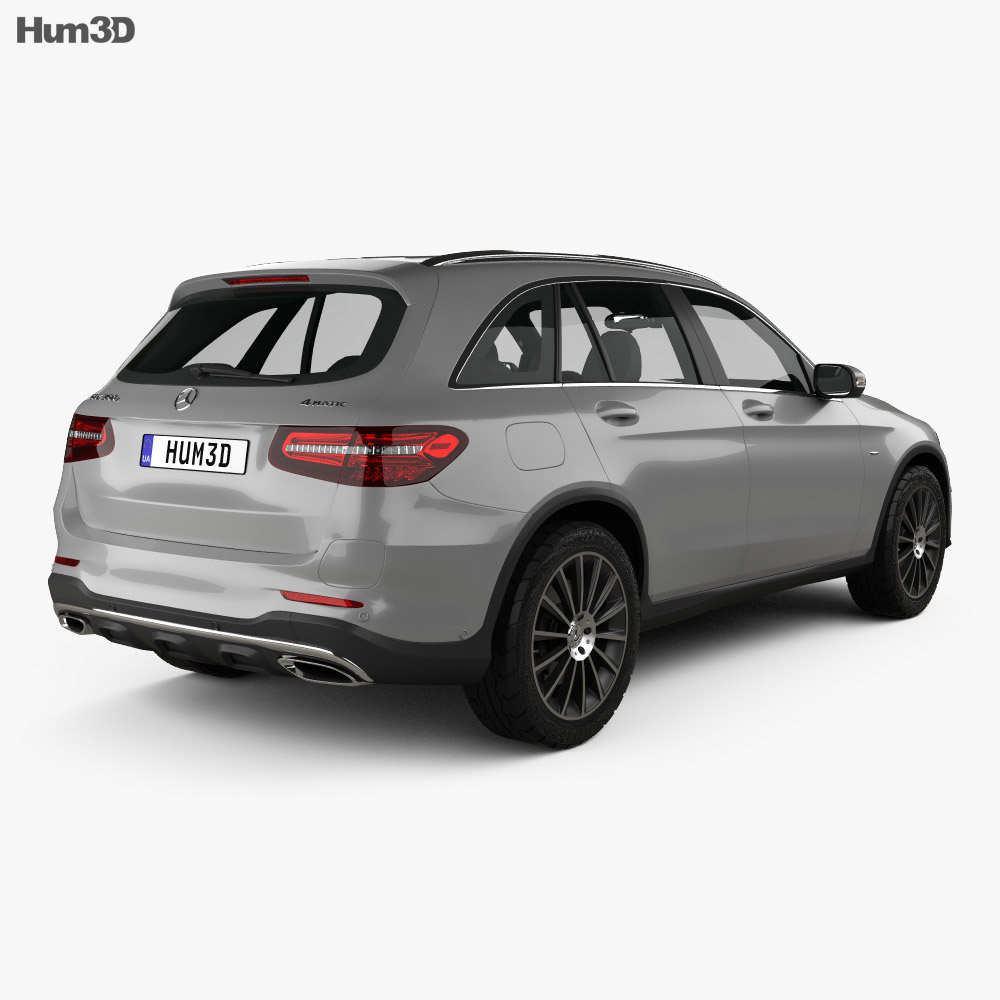 Mercedes-Benz GLC-Class (X205) AMG Line 2015 3d model