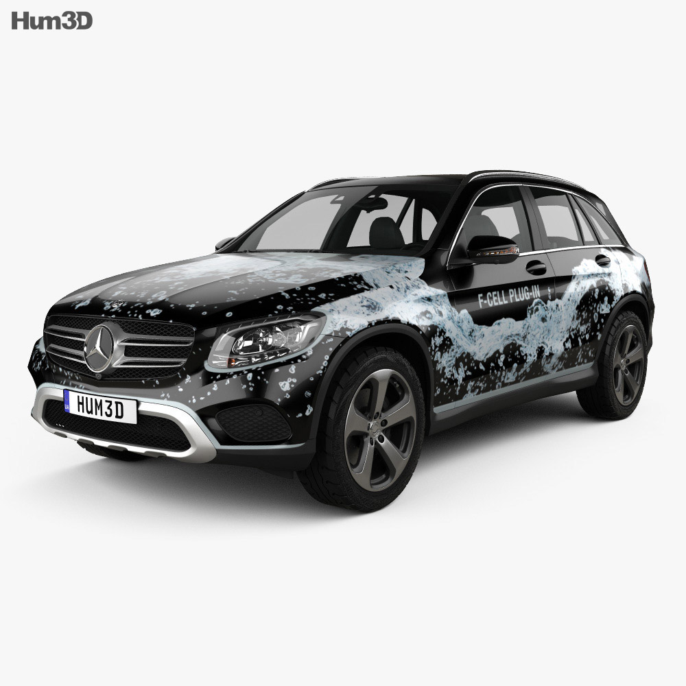 Mercedes-Benz GLC-Class (X205) F-Cell 2016 3d model