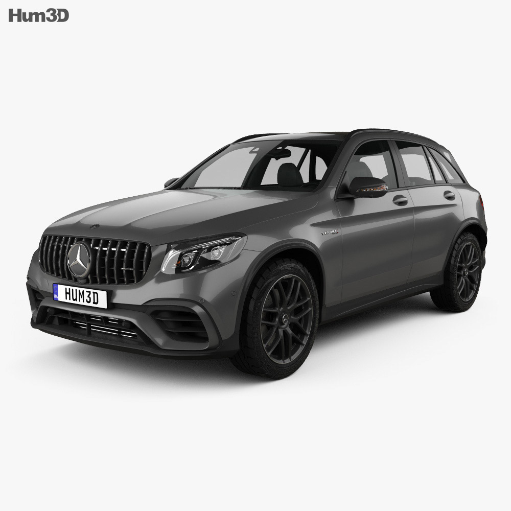 Mercedes benz glc class x205 s amg 2017 3d model hum3d for 2017 mercedes benz glc class dimensions