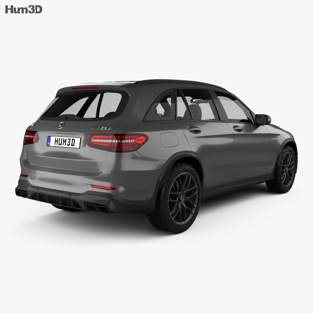 Mercedes-Benz GLC-Class (X205) S AMG 2017 3d model