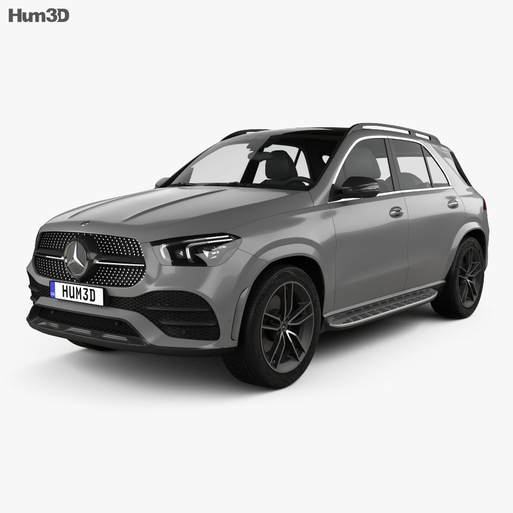 Mercedes-Benz GLE-class AMG Line 2019 3D Model