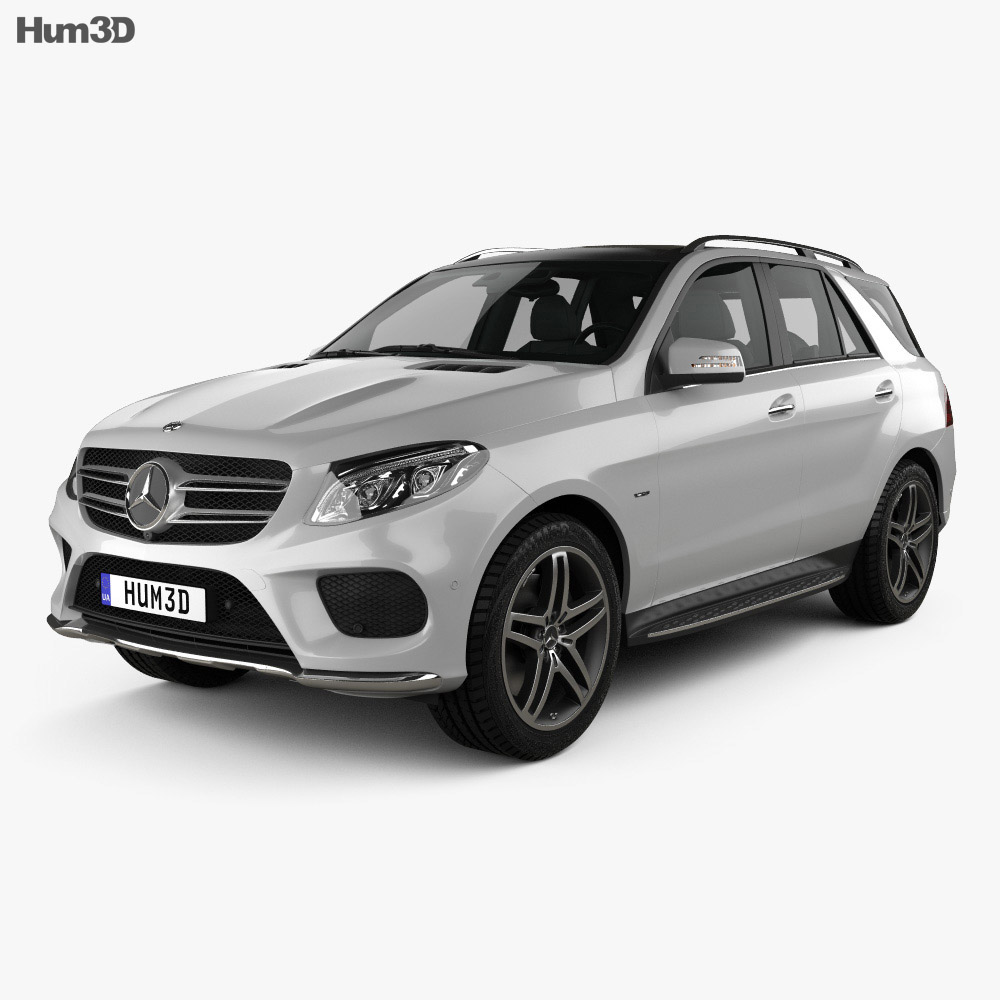 Mercedes-Benz GLE-Class (W166) AMG Line 2014 3d model