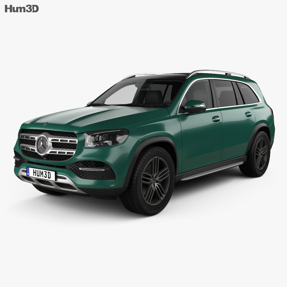 Mercedes-Benz GLS-class 2019 3D Model