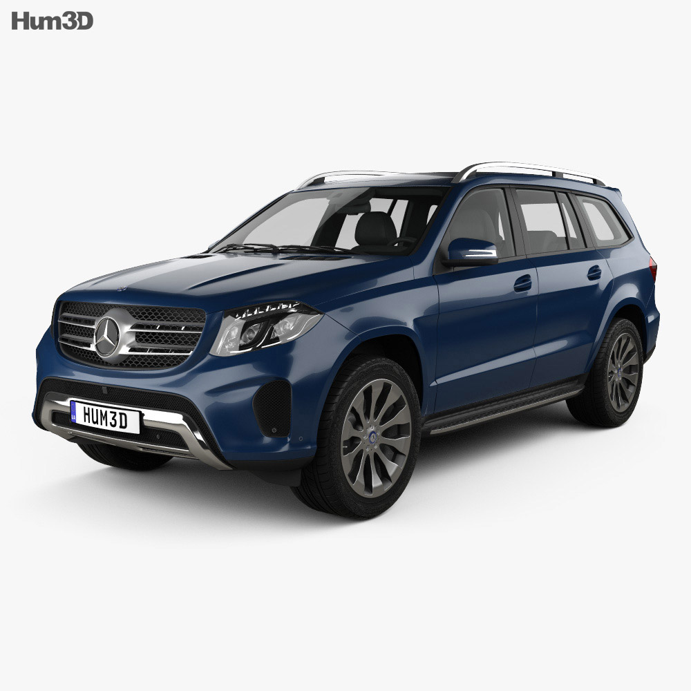 Mercedes-Benz GLS-Class 2015 3d model