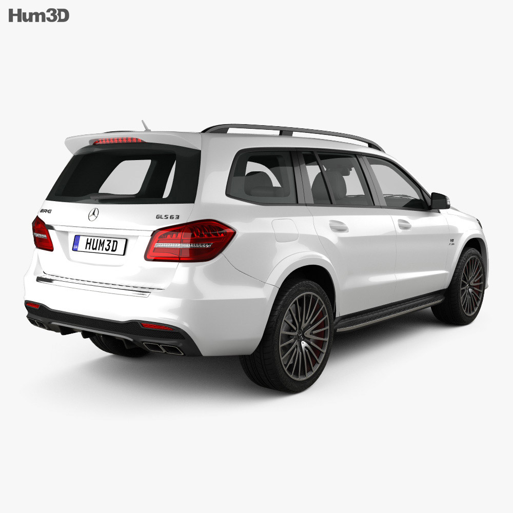 Mercedes-Benz GLS-Class AMG 2015 3d model
