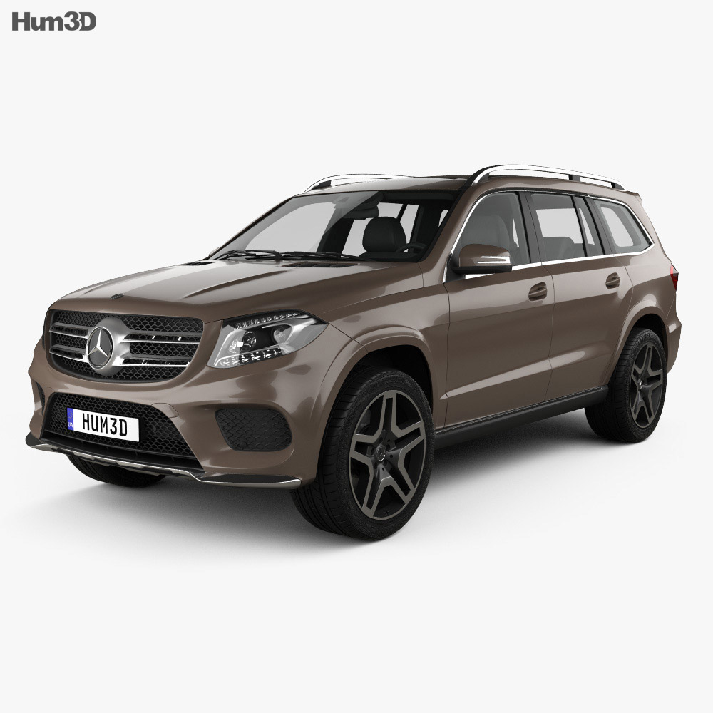 Mercedes-Benz GLS-Class AMG Line 2015 3d model