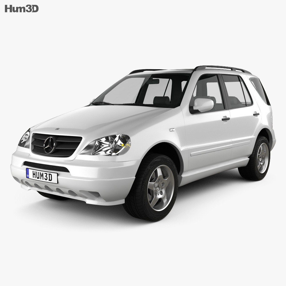 Mercedes-Benz M-Class (W163) 1997 3d model
