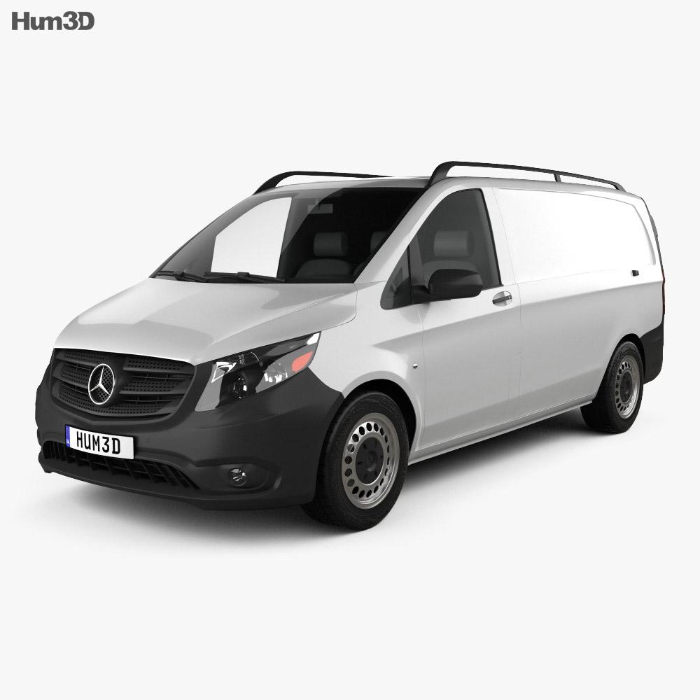 Mercedes-Benz Metris 厢式货车 2014 3D模型