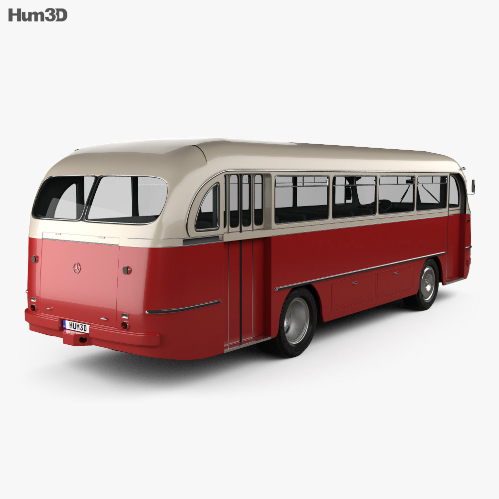 Mercedes-Benz O-321 H Bus 1954 3d model