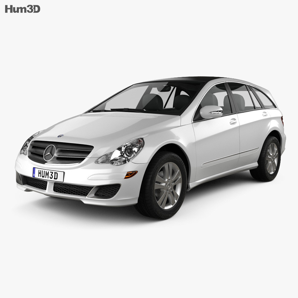 Mercedes-Benz R-Class (W251) 2006 3D model - Vehicles on Hum3D