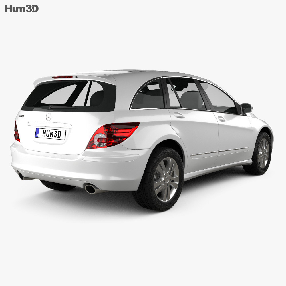 Mercedes-Benz R-Class (W251) 2006 3d model