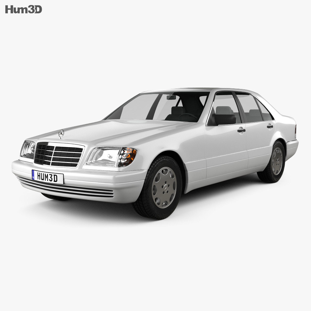 Mercedes-Benz S-class (W140) 1999 3d model