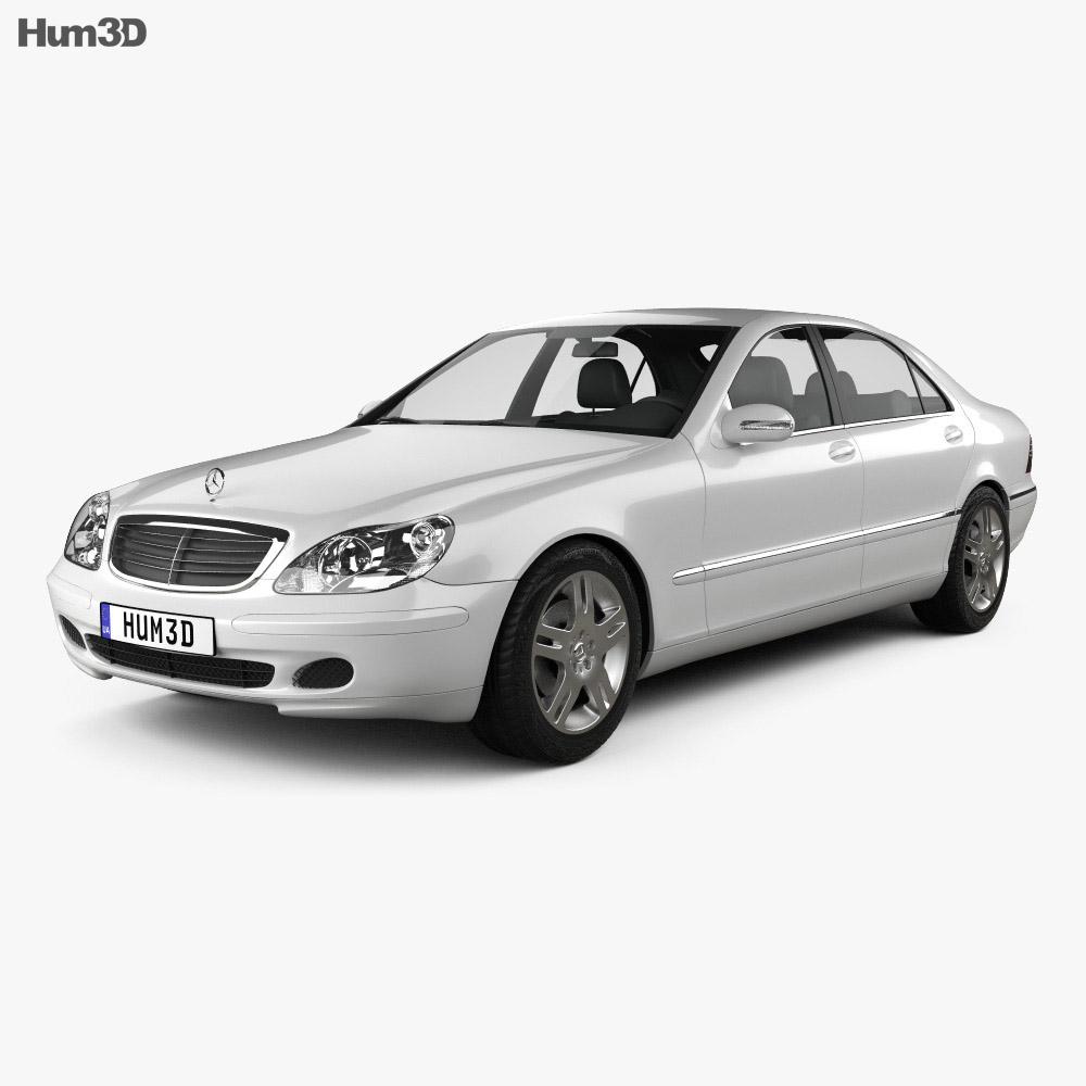 Mercedes-Benz S-class 2003 3d model