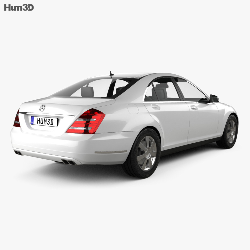 Mercedes-Benz S-Class 2010 3d model