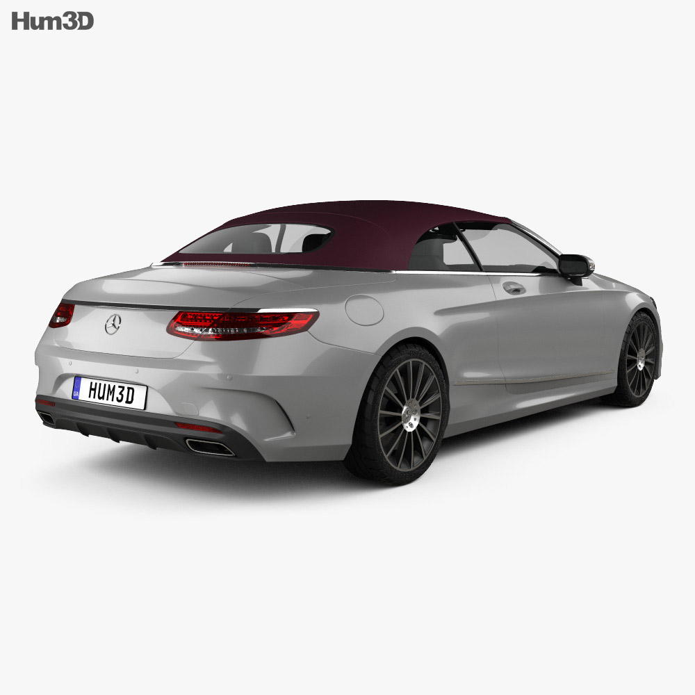 Mercedes-Benz S-class AMG Line cabriolet 2014 3d model