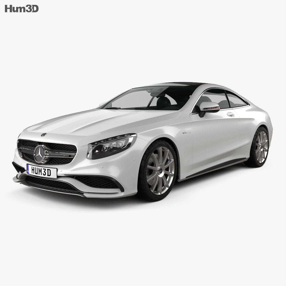 Mercedes-Benz S-Class 63 AMG (C217) coupe 2014 3d model