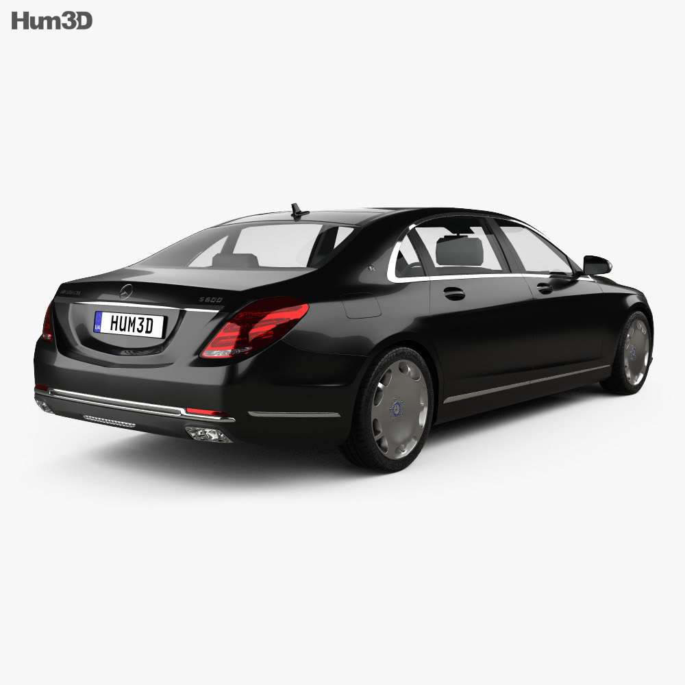 Mercedes-Benz S-Class (W222) Maybach 2016 3d model