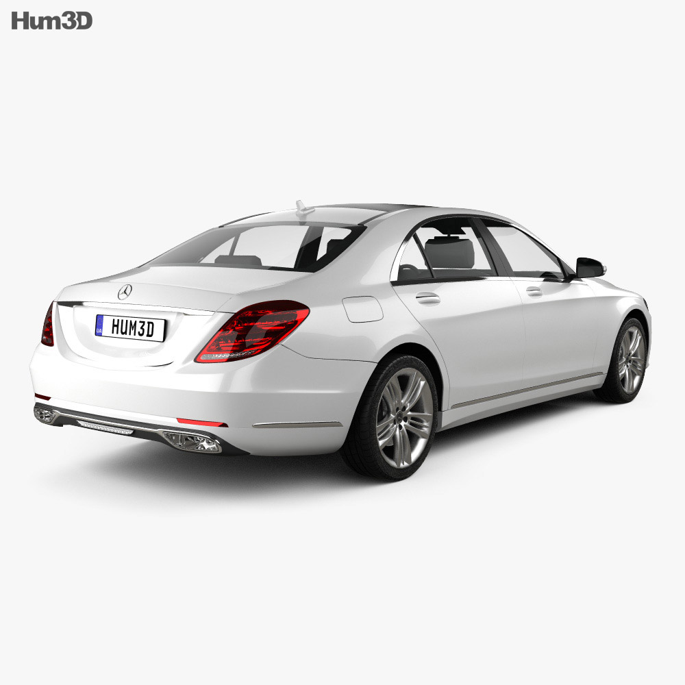Mercedes-Benz S-class (V222) 2017 3d model
