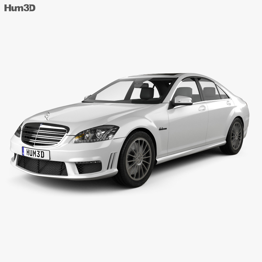 Mercedes-Benz S-class 65 AMG 2012 3d model