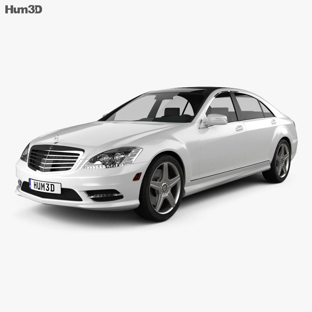 Mercedes-Benz S-Class (W221) 2012 3d model