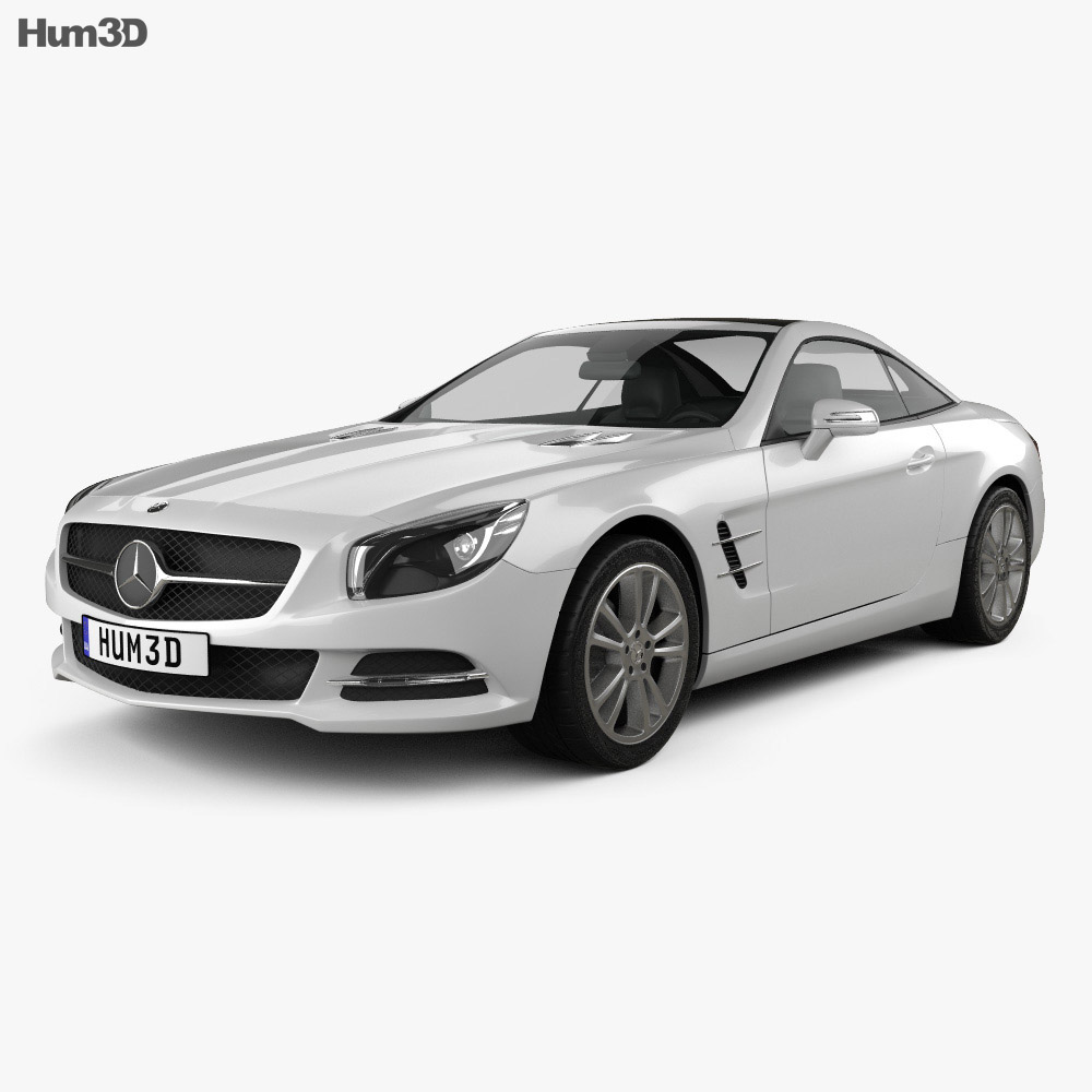 Mercedes-Benz SL-class 2012 3d model