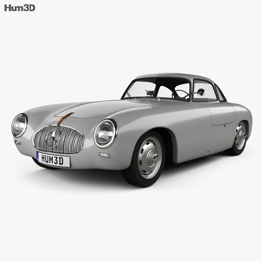 Mercedes-Benz SL-Class (W194) 1952 3d model