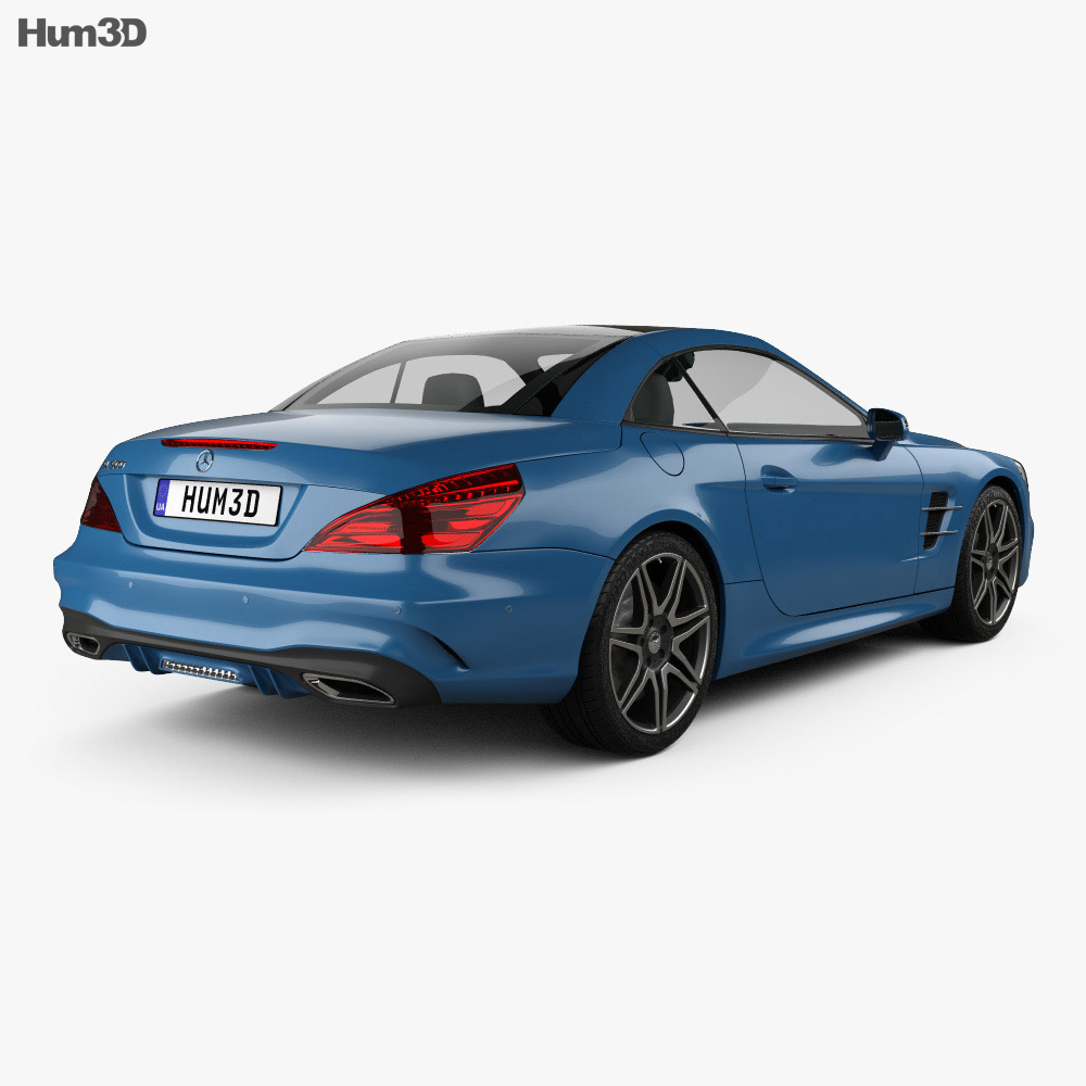 Mercedes-Benz SL-Class (R231) 2015 3d model