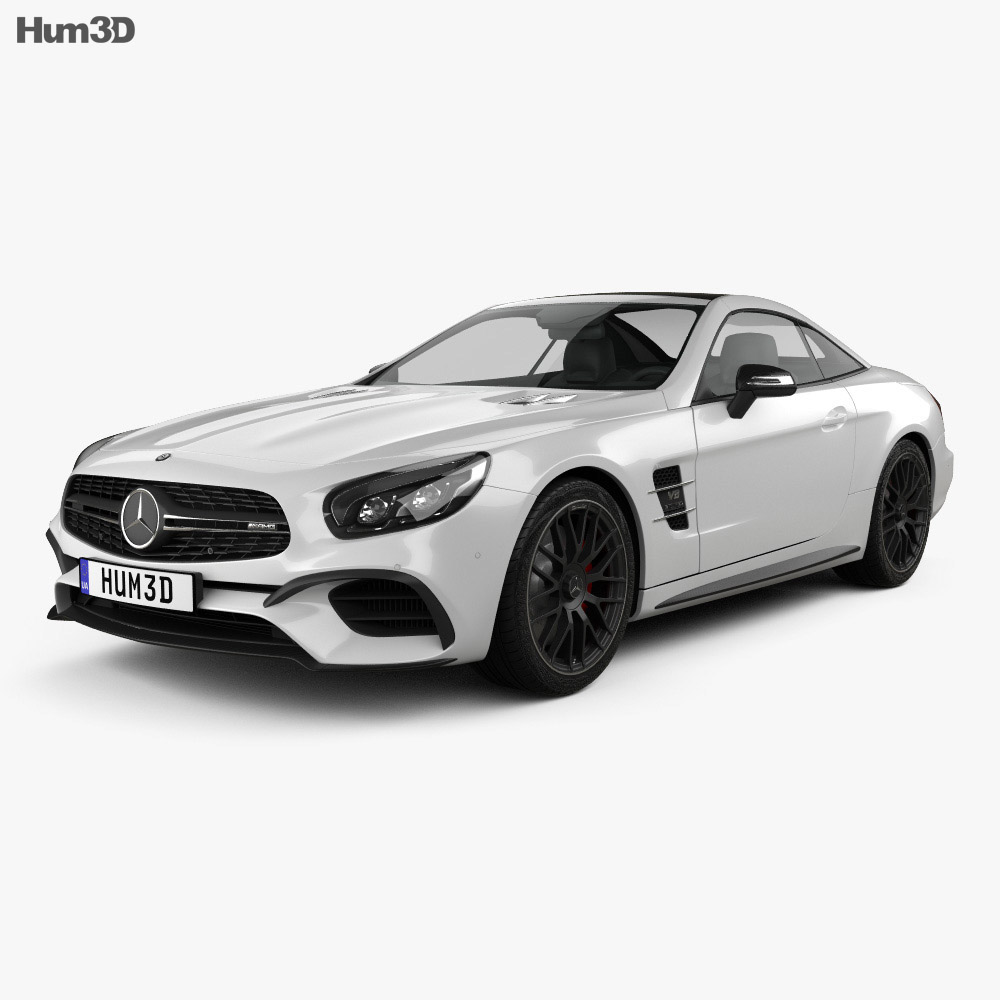 2019 Mercedes Benz Sl Camshaft: Mercedes-Benz SL-Class (R231) SL 63 AMG 2015 3D Model