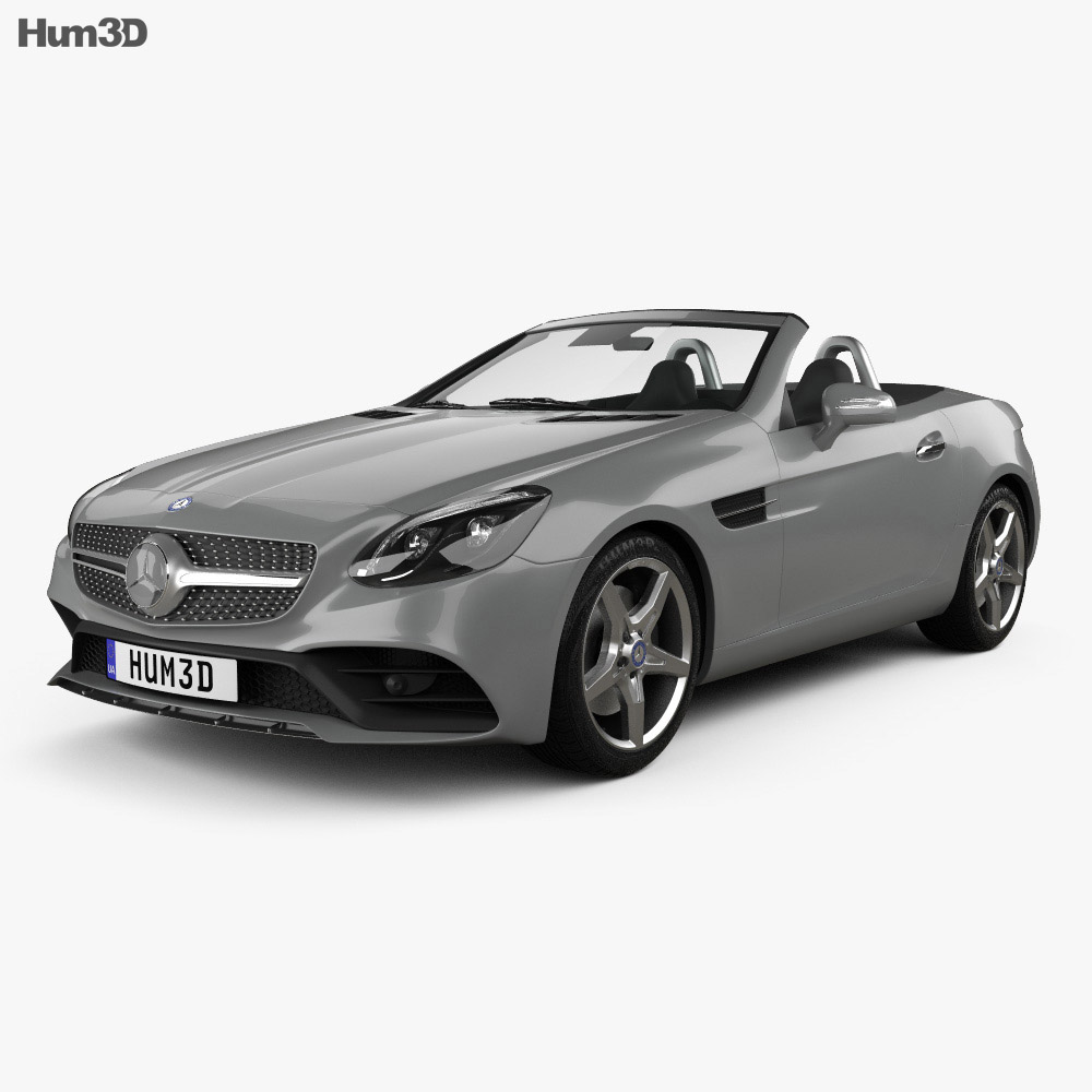 Mercedes-Benz SLC-Class 2017 3d model