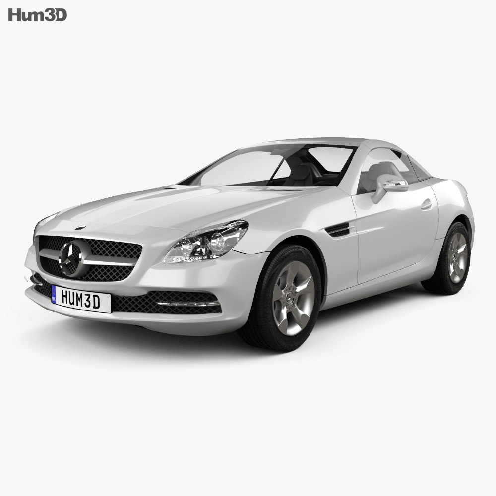 Mercedes-Benz SLK-Class (R172) 2012 3d model