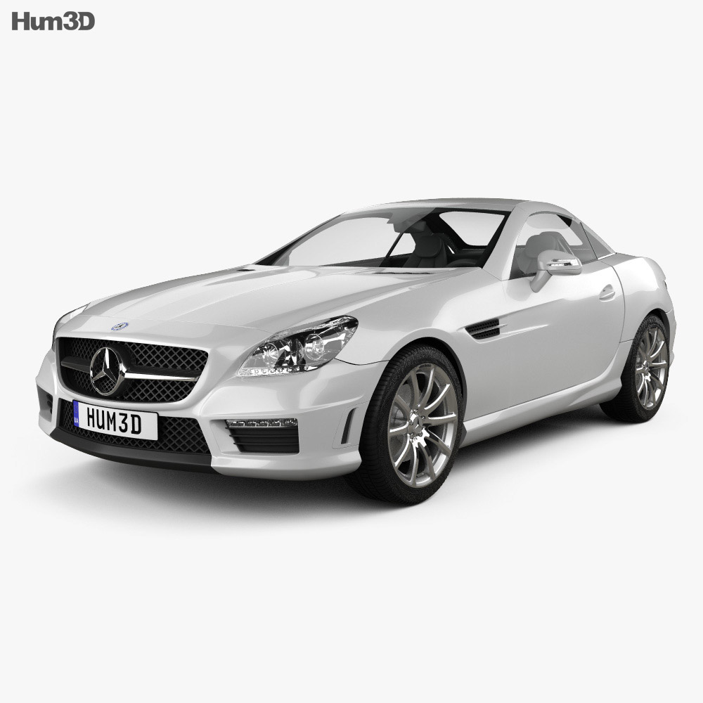 Mercedes-Benz SLK-class 55 AMG 2012 3d model