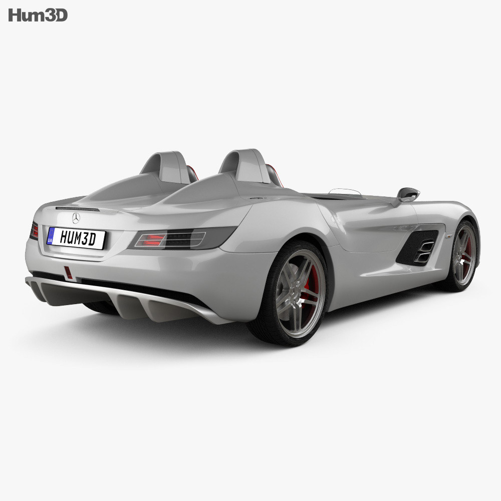 Mercedes-Benz SLR McLaren Stirling Moss 2009 3d model
