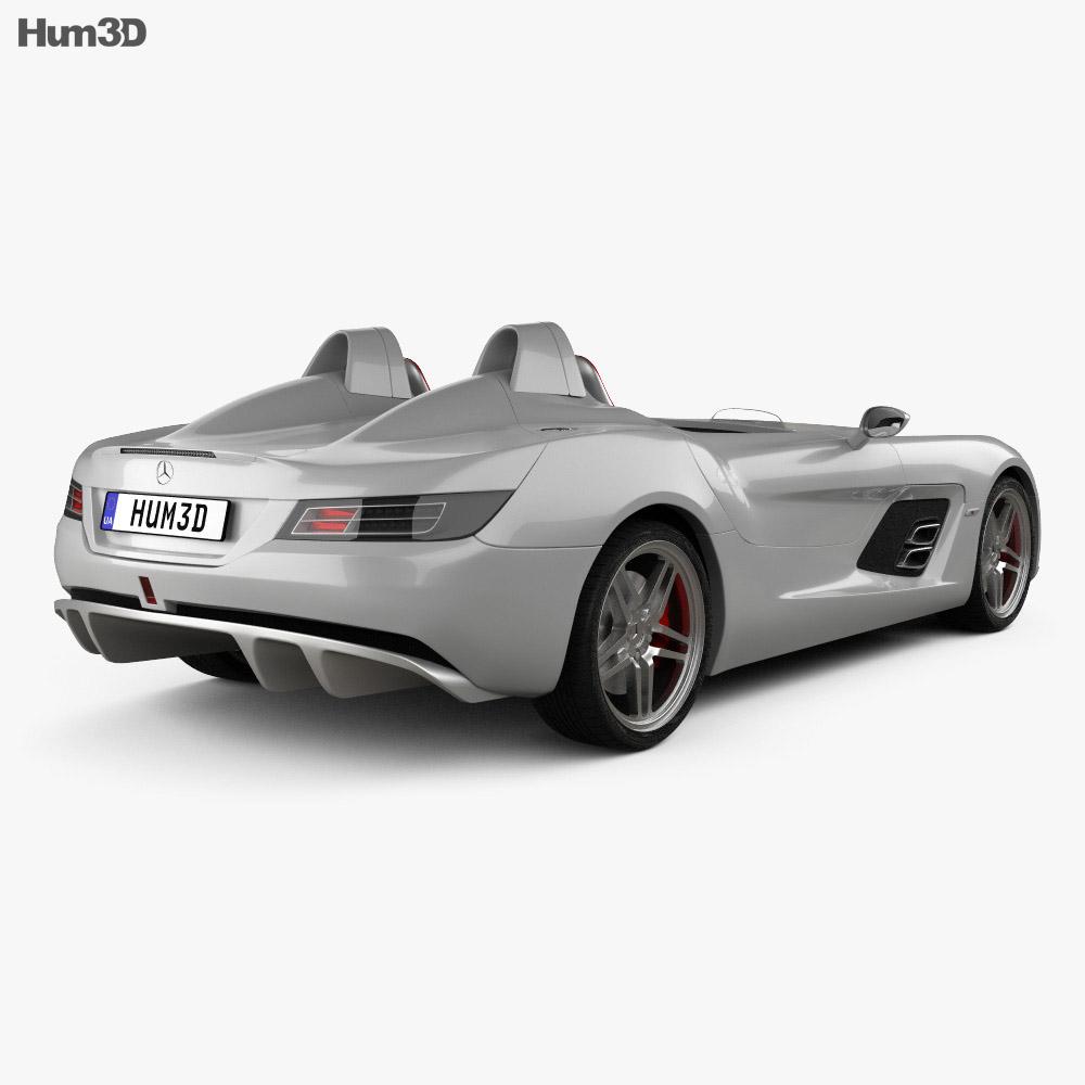 Mercedes benz slr mclaren stirling moss 2009 3d model for 2009 mercedes benz slr mclaren