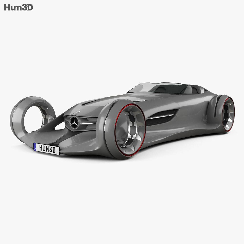 Mercedes-Benz Silver Arrow 2016 3D model - Vehicles on Hum3D