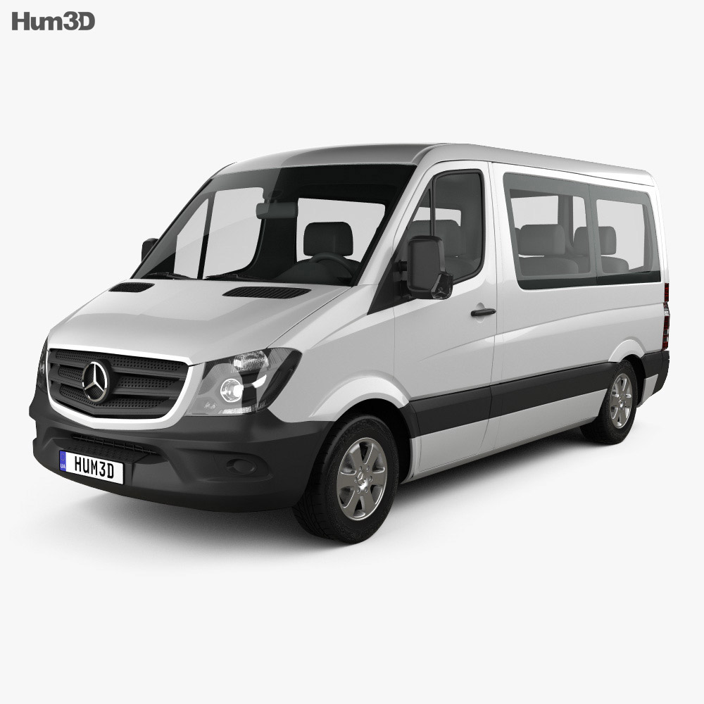 Mercedes-Benz Sprinter Passenger Van CWB SR 2013 3d model