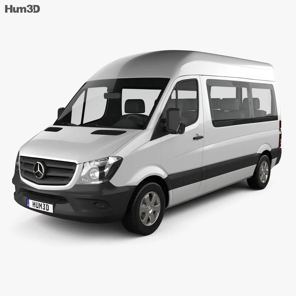 Mercedes-Benz Sprinter Passenger Van 2013 3d model