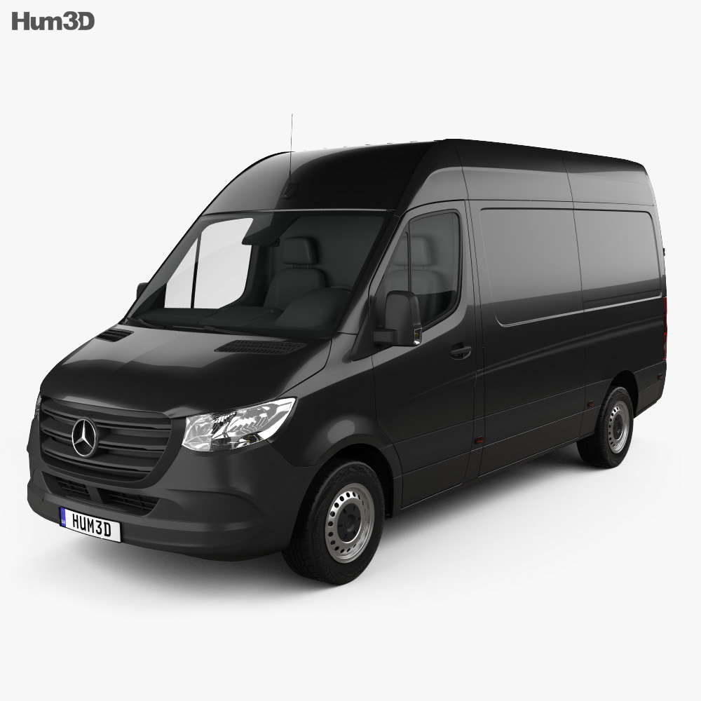 Mercedes-Benz Sprinter Panel Van L2H2 2019 3d model