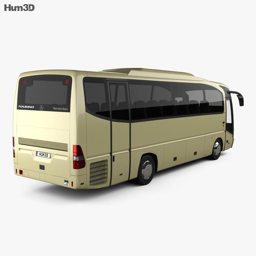 Mercedes benz tourino o510 bus 2006 3d model humster3d for Mercedes benz 2006 models