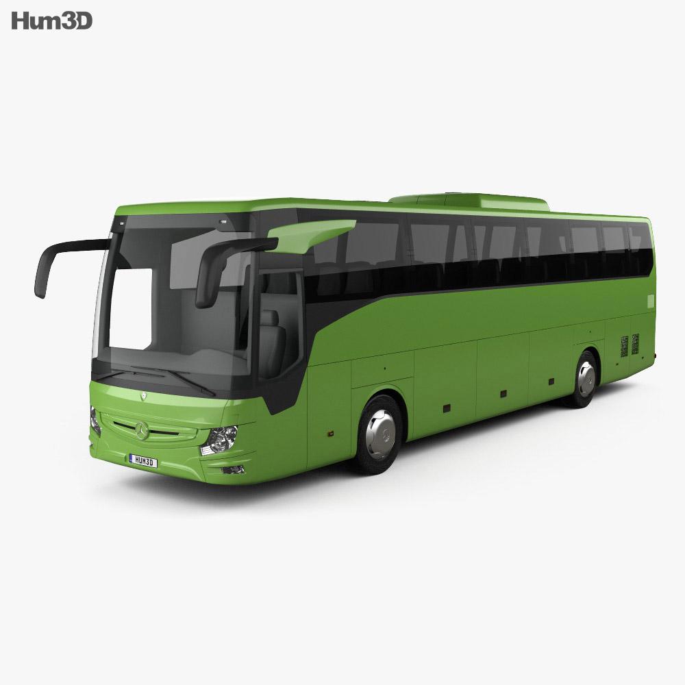 Mercedes-Benz Tourismo RHD Bus 2017 3d model