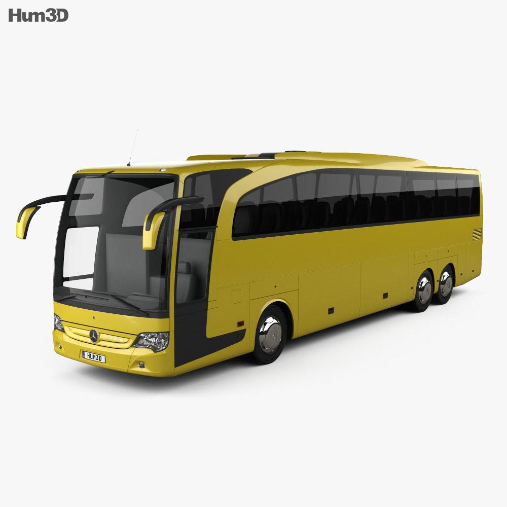 Mercedes benz travego m bus 2009 3d model humster3d for Mercedes benz busses