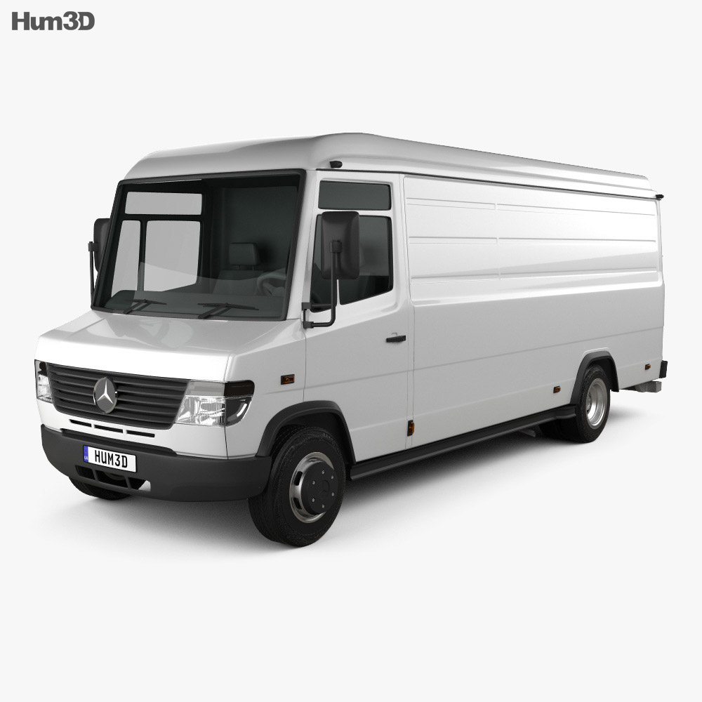 Mercedes-Benz Vario Panel Van LWB High Roof 2011 3d model