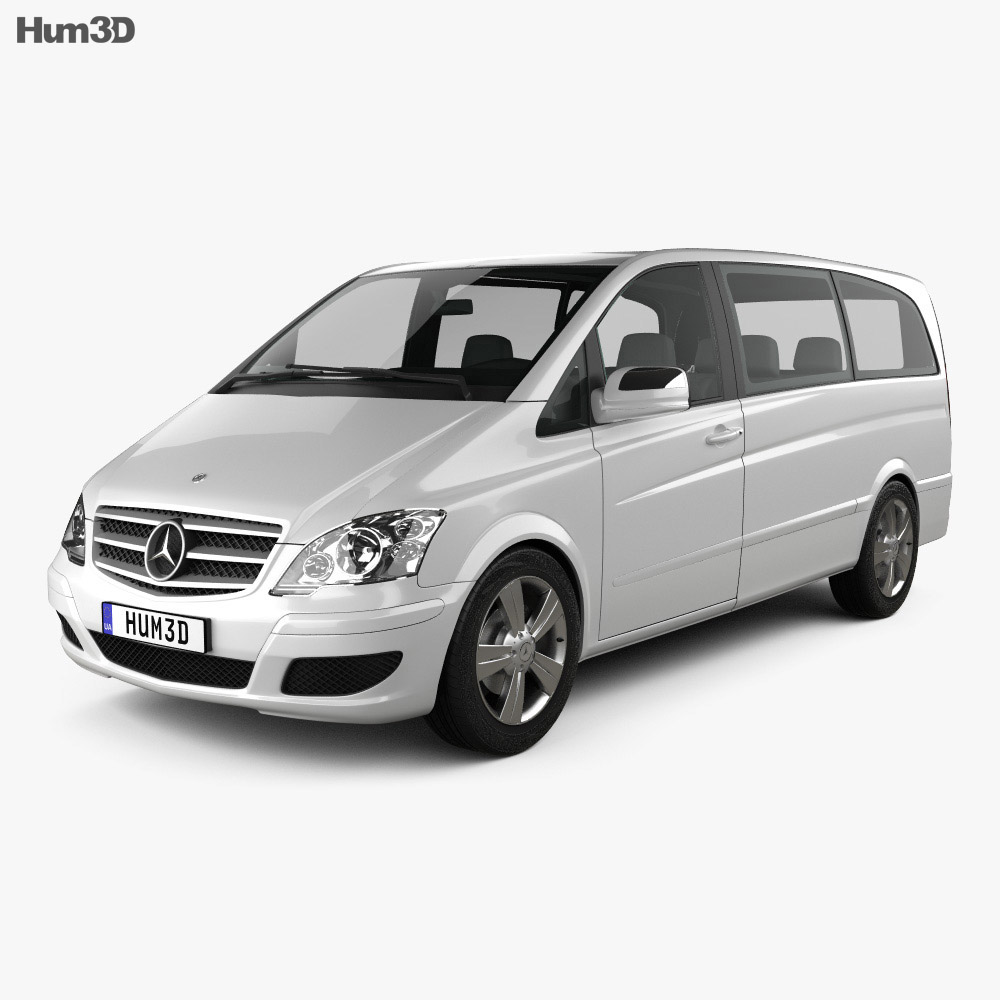 Mercedes-Benz Viano Long 2011 3d model