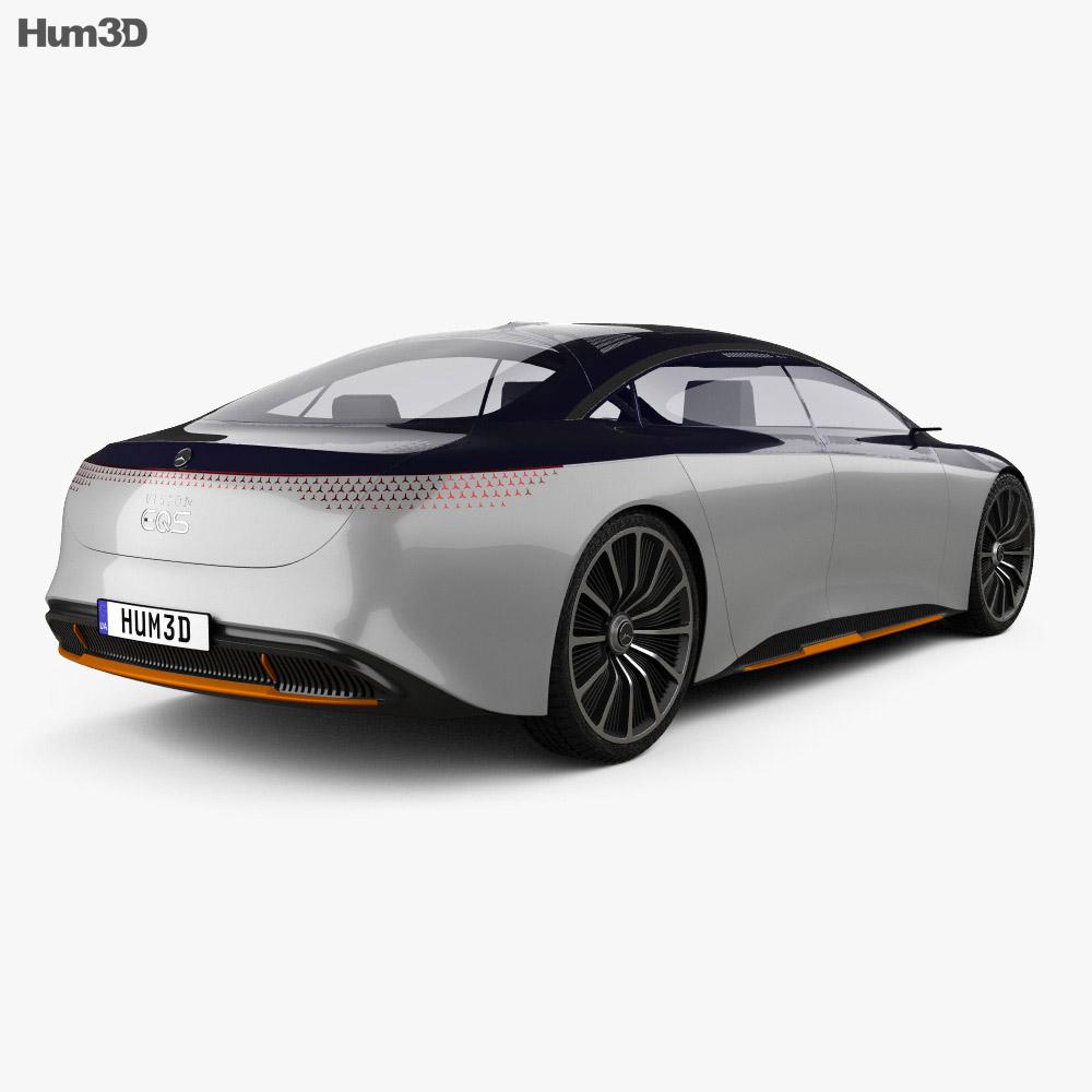 Mercedes-Benz Vision EQS 2019 3d model